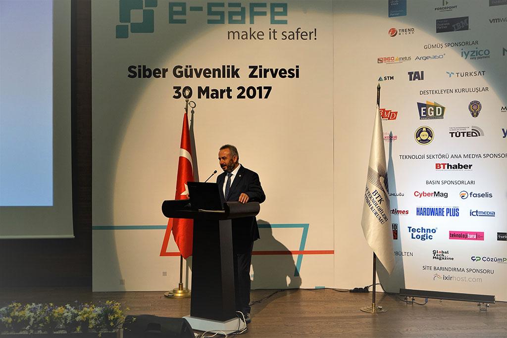e-Safe Siber Güvenlik Zirvesi Ankara'ya Damgasını Vurdu