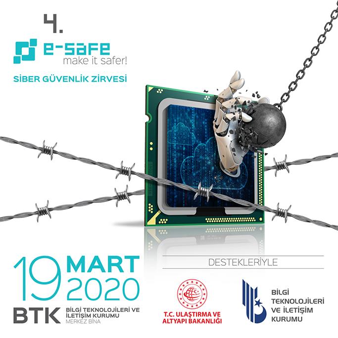 4'üncü e-Safe Siber Güvenlik Zirvesi'nde, Kritik Altyapılar Konuşulacak
