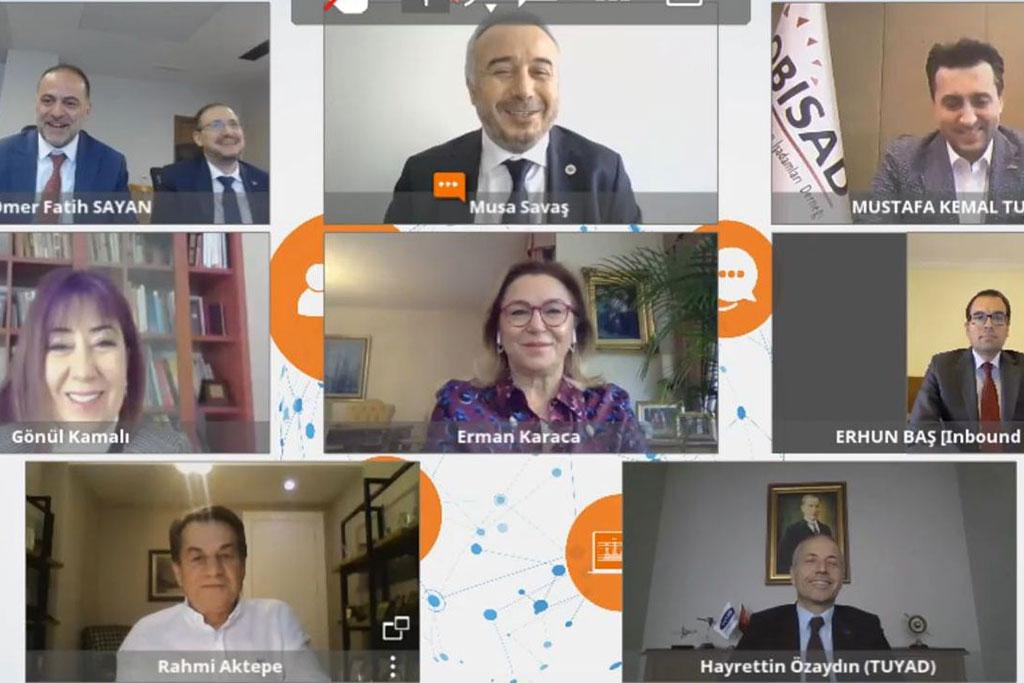 Dijital Gündem, Bilişim ve Telekom STK'ları ile Bakan Yardımcısı Dr. Ömer Fatih Sayan'ı Buluşturdu