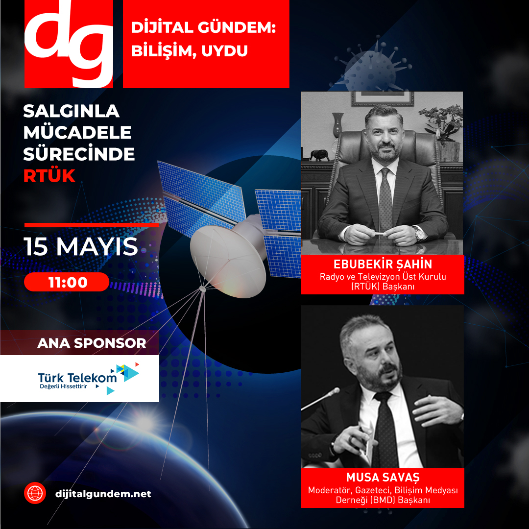 Dijital Gündem, RTÜK Başkanı Ebubekir Şahin'i Konuk Ediyor