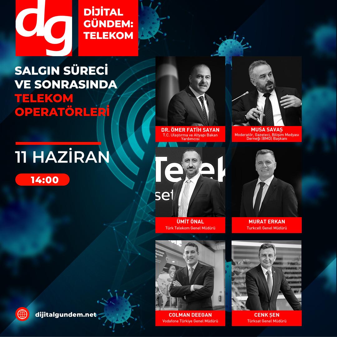 Telekom CEO'ları Dijital Konferansta Buluşacak