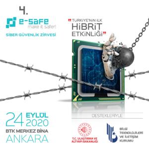 Türkiye'nin İlk Hibrit Etkinliği 4'üncü e-Safe Siber Güvenlik Zirvesi'nde, Kritik Altyapılar Konuşulacak