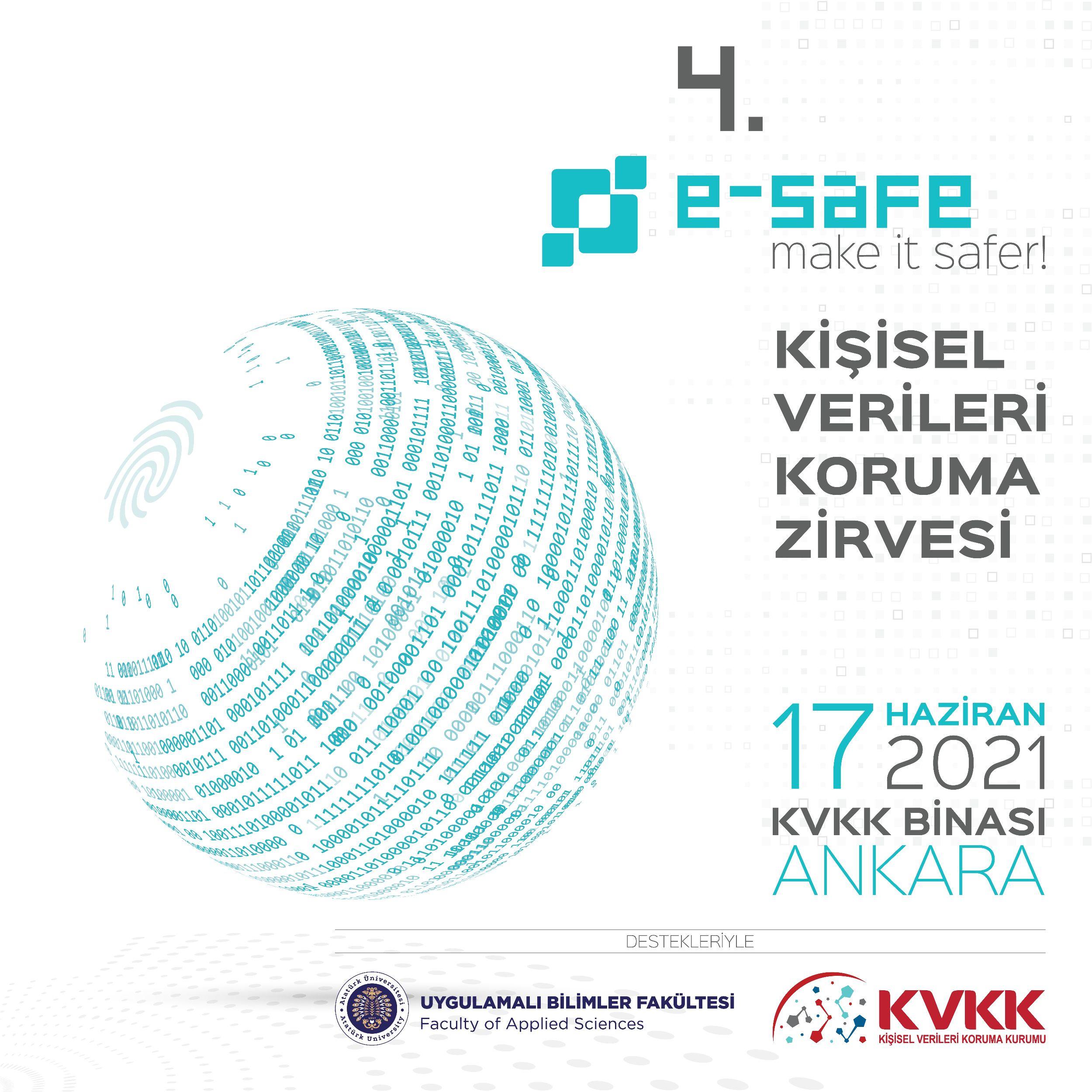 4'üncü e-Safe Kişisel Verileri Koruma Zirvesi, İdari ve Teknik Tedbirleri Masaya Yatırıyor
